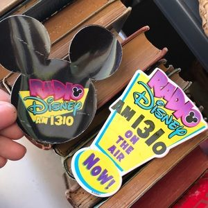 Disney Jewelry - Radio Disney Magnet and Pin AM 1310